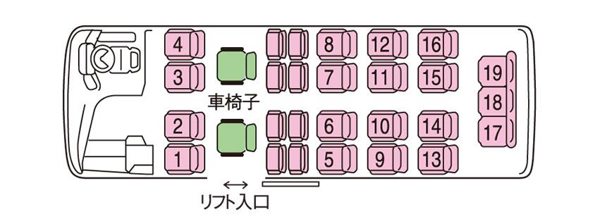 バス室内平面図